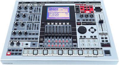 Roland MC-909 MC909 Groovebox + 256 MB RAM Sammlerzustand / Rechng + GEWÄHR!