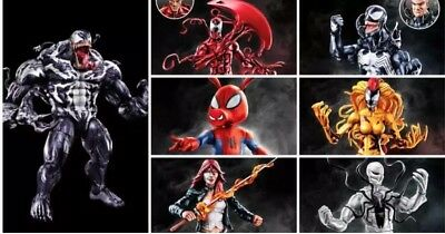 Marvel Legends Venom Wave 1  Set Spider-Ham, Typhoid Mary Scream Carnage Presale