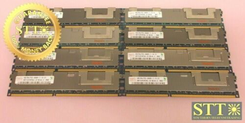 Hmt151r7bfr4c-g7 Hynix 4gb 2rx4 Pc3-8500r-7-10-e1 Ecc Dimm (lot Of 8)