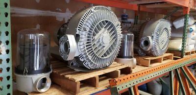New Airtech 640 Cfm Regenerative Blower - Vacuum Pump Gast Becker Busch