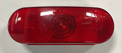 Triton 03526 Red Incandescent Oval Tail Light
