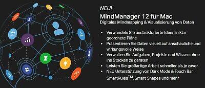 Mindjet Mindmanager 12 für MAC