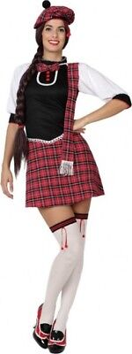 Kostüm Frau Schottische M/L 40/42 Volksmusik Des Welt - Schottische Kostüme