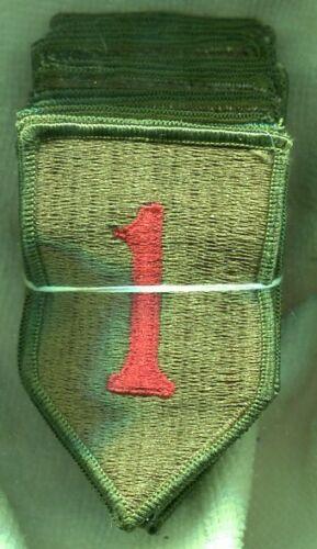 Dealer lot 20 US Army Vietnam Era 1st Infantry Division Color M/E Patches