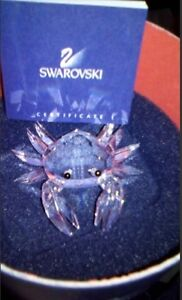 SWAROVSKI CRYSTAL MINI CRAB 206481 RETIRED MIB Brand New