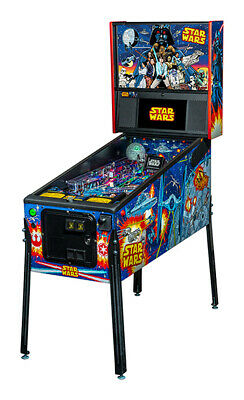 NEW Stern Star Wars  PRO Pinball Machine  Free Shipping Comic Edition!