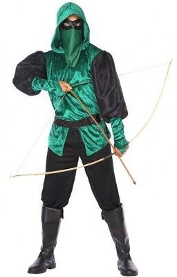 Déguisement Homme ROBIN des BOIS M/L Arrow Super Héro Cinéma NEUF Pas (Robin Des Bois Kostüm)