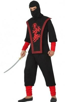 Adult Ninja Suit (Costume Man NINJA XL Suit Adult chinese japanese NEW not)