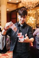Walk Around Magic 4 Wedding Reception by Cool Magician from $95