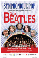 Symphonique Pop, Gala Beatles. Amphithéâtre Fernand-Lindsay NeGo