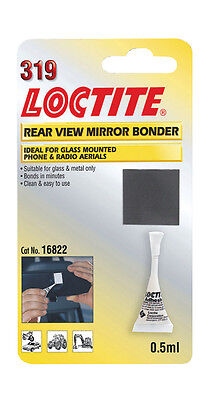 Loctite 319 Car Rear View Mirror Bonder  Glass  Metal Glue Antenna Aerial etc