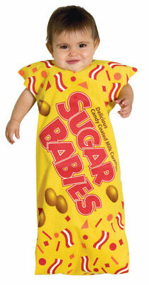 Sugar Babies Candy Wrapper Dress Up Halloween Newborn Infant Child Costume
