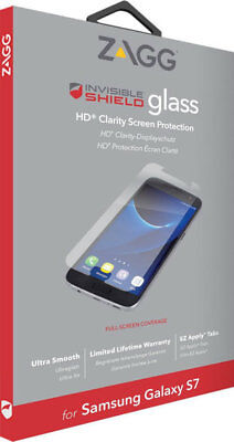 Zagg Invisible Shield Glass Hd Clarity Screen Protector For Samsung Galaxy S7