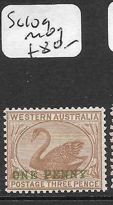 WESTERN AUSTRALIA  (P1109B) SWAN 1D/3D  SG 109  MOG