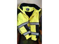 Flourescent Safety Jacket.