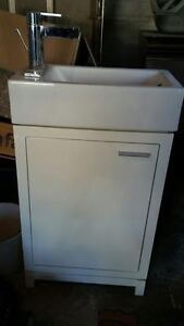 Compact sink and vanity
