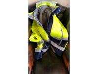 Flourescent Safety Jacket XL
