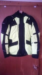 Motorcycle jacket for sale. Used for part of one season