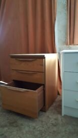 Bedside drawer unit