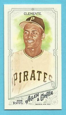 ROBERTO CLEMENTE 2018 Topps Allen And Ginter Mini A & G Back #107 Pirates HOF'er