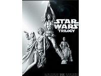 DVD boxsets (Star wars trilogy, Rocky 1-5, Jaws 1-4 etc)