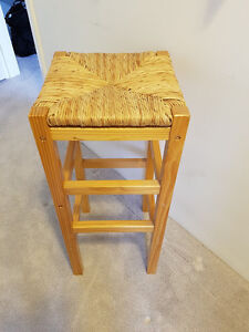 Done it All- Needs A Home-Rattan Bar Stool/ End or Display table