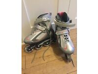 Inline skates - women's UK size 5, barely used