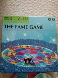 The Fame Game - board game for 2-6 players