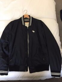 Abercrombie & Fitch Large Mens Bomber Jacket