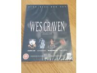 Wes Craven 5 DVD boxset - UNOPENED