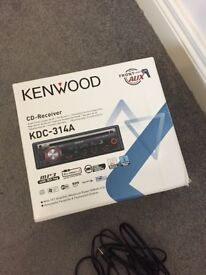 Kenwood KDC-314A CD/MP3 Player with front aux input