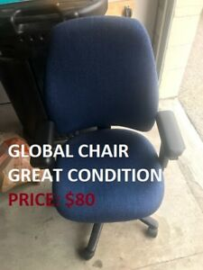 TU>>Global Chair, Excellent Condition, Cheap Price!