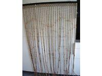 Wooden beaded door curtain/ fly screen