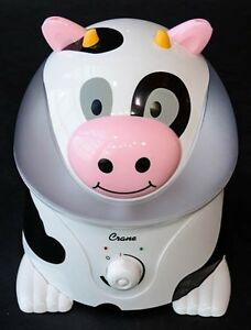 the Crane Cool Mist Humidifier, cow