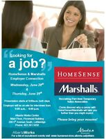 Marshalls and HomeSense Two Day Employer Connection
