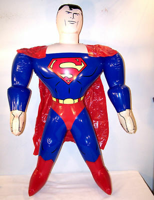 NEW GIANT SUPERMAN 24 IN HERO  INFLATABLE BLOW UP TOY SUPER MAN INFLATE NOVELTY - Family Guy Super Inflatable