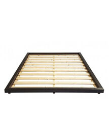 Kingsize Wooden Platform Bed
