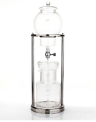 Nispira Iced Coffee Dripper Cold Brew Drip Stainless Steel Stand 600 ml