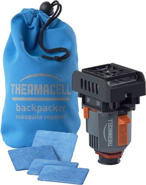 Thermacell MR-BPR Backpacker Mosquito Repeller Gen 2.0, 16 Hours, 4Mats Included