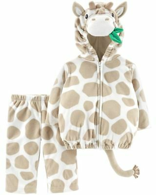 Carters GIRAFFE Plush Zoo Animal Halloween Outfit Costume Toddler 24 Month 2T