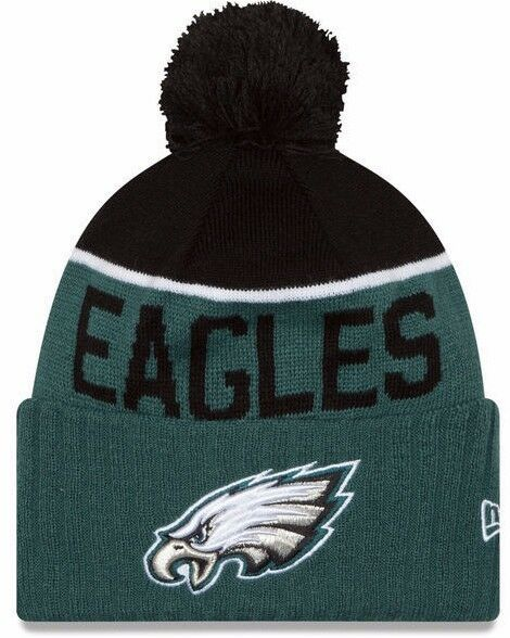 NEW ERA 2015-16 SPORT KNIT NFL Onfield Sideline Beanie Winter Pom Knit Cap Hat