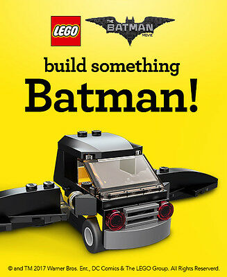 Toysrus Lego Batman Movie Emmets Bat Car Mini Build Event