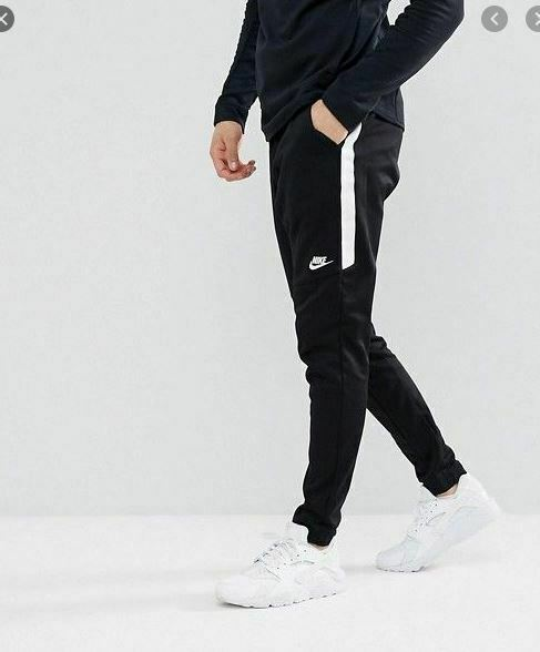 Dar tos Estable  Nike Tribute Pants Joggers Slim Track Black/white Men's 2xl 884898-010 Tech  for sale online | eBay