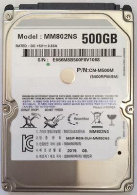 "500gb 8mb Cache 5400rpm Sata 3 / 6.0gb/s 2.5"" 9.5mm Notebook Hard Drive Ps3"