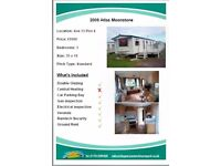Our Lovely static 3 bedroom Caravan at Skegness Water Leisure Park Price Reduced to £7.500