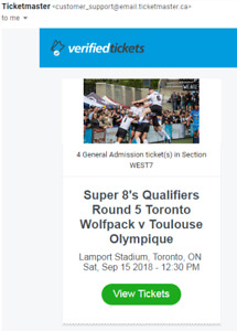 Toronto Wolfpack Rugby League vs. Toulouse Olympique SEP 15