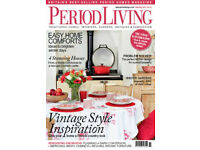 Period Living magazines