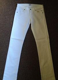 "Sass & Bide white jeans 26"" - fits a 28"" too"