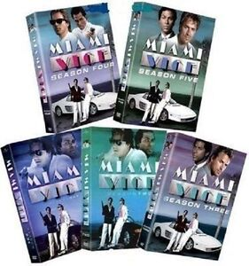 Miami Vice ~ Complete Series ~ Season 1-5 (1 2 3 4 & 5) ~ NEW 27-DISC DVD SET