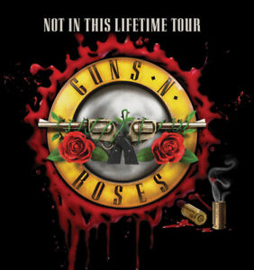 Gun N Roses Tickets - Not In This Lifetime Tour